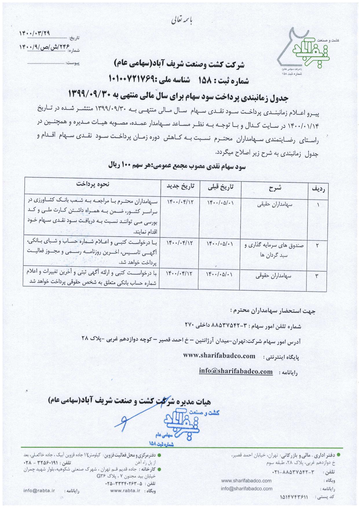 زمانبندي-پرداخت-سود-دوره-12-ماهه-منتهي-به-1399-09-30